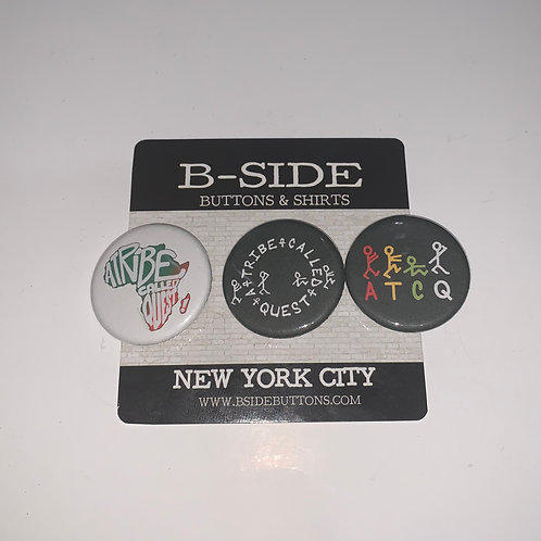 """A Tribe Called Quest Button Pack - Size: 1.25"""" (v.2)"""