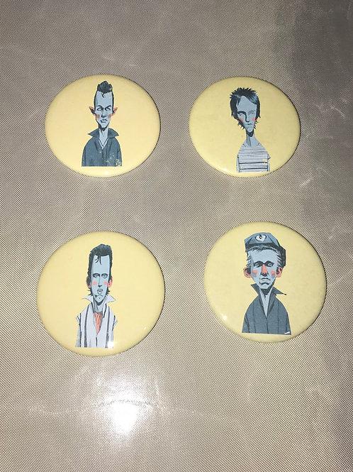 """The Clash 2.25"""" Big Button"""