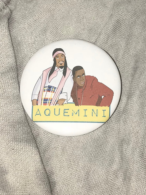 "Outkast Aquemini 2.25"" Big Button"