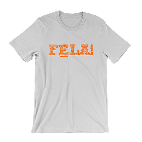 Fela Kuti Text T-Shirt