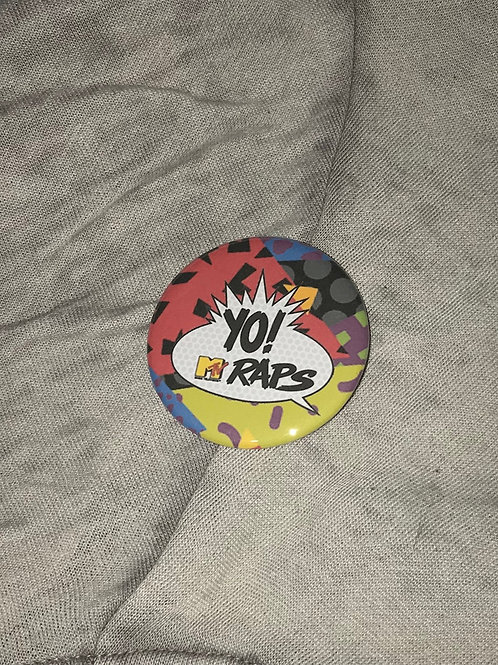 "YO! MTV Raps 2.25"" Big Button"