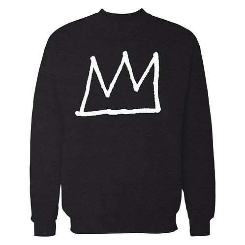 Basquiat Crown Sweatshirt