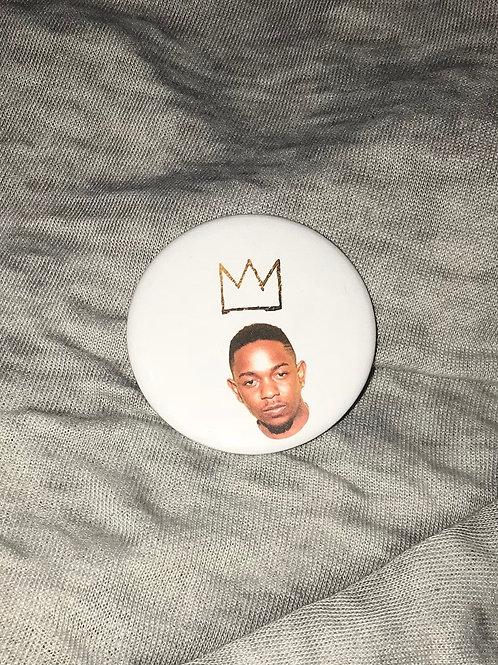 "Kendrick Lamar Crown 2.25"" Big Button"