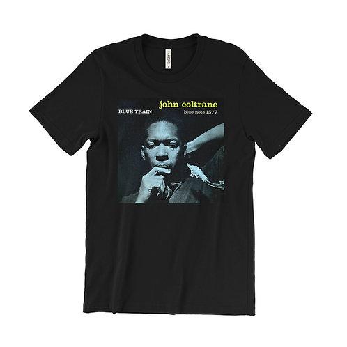John Coltrane Blue Train Album Cover Art T-Shirt