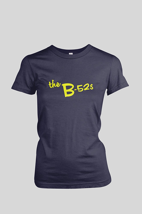 The B-52's yellow logo Women's T-Shirt