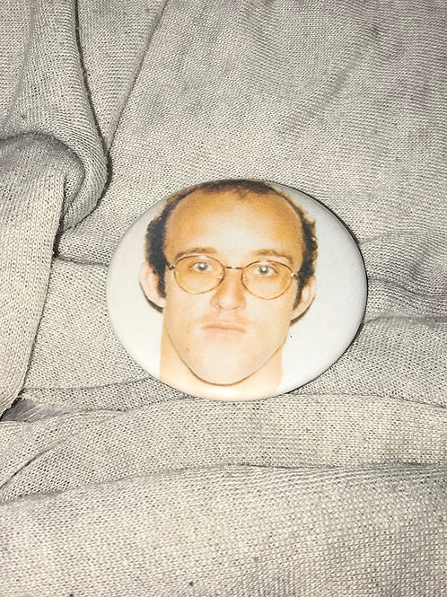"Keith Haring 2.25"" Big Button"