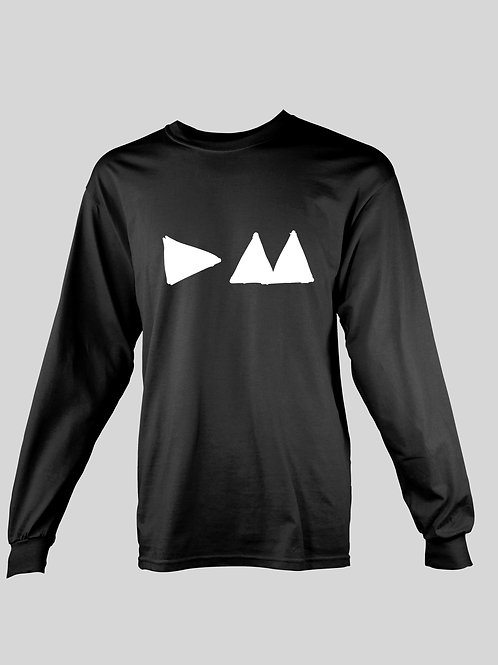 Depeche Mode Triangle long Sleeve T-Shirt