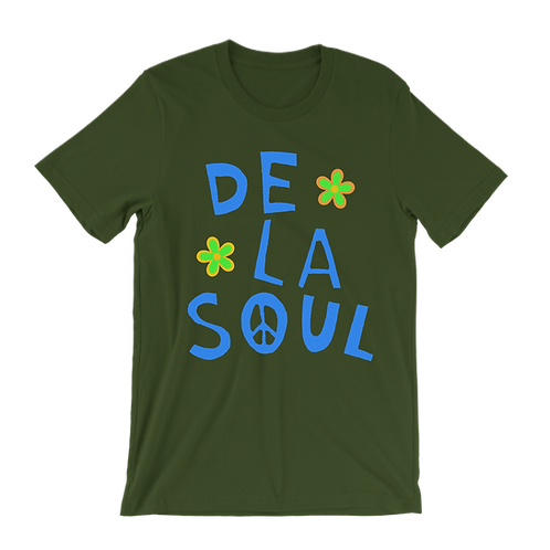 De La Soul Flower (Blue letters) t-shirt