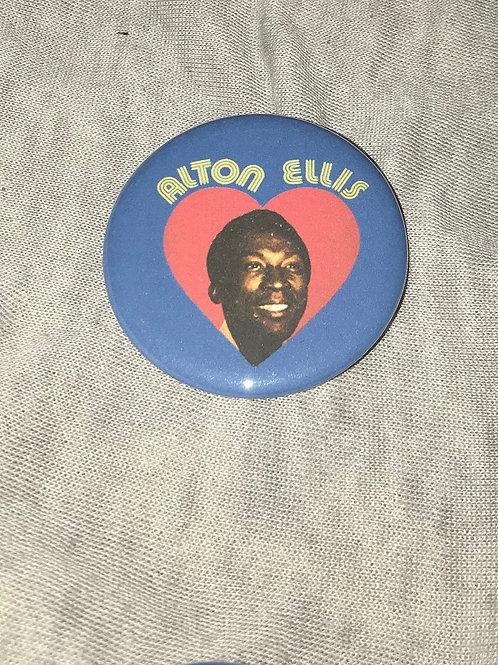 """Alton Ellis 2.25"""" Big Button"""