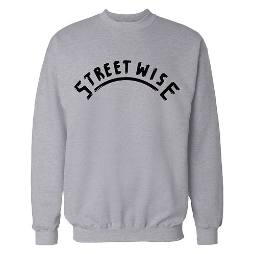 Street Wise Record Label logo Sweatshirt