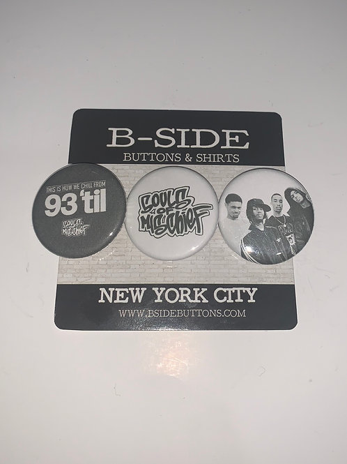 """Souls Of Mischief Button Pack - Size: 1.25"""""""