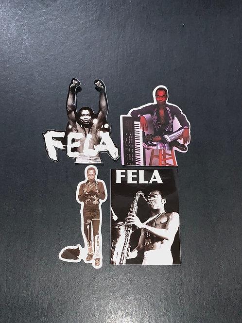 Fela Kuti Stickers