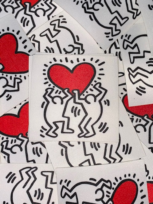 Keith Haring Iron On Patch