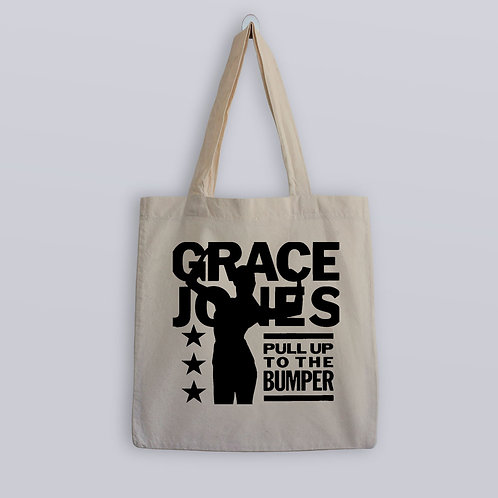 Grace Jones Pull Up To The bumper Tote Bag