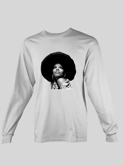 Diana Ross long Sleeve T-Shirt
