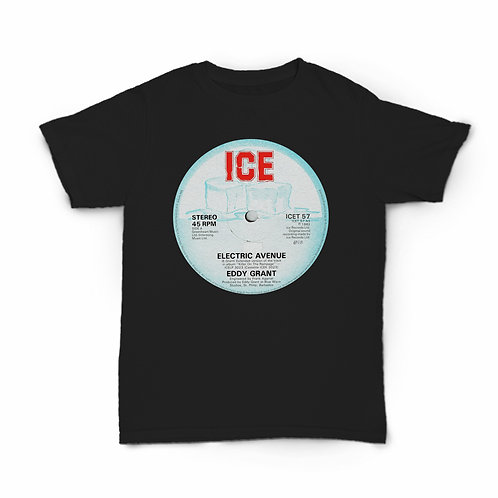 "Eddy Grant Electric Avenue T-Shirt (Vinyl 12"")"
