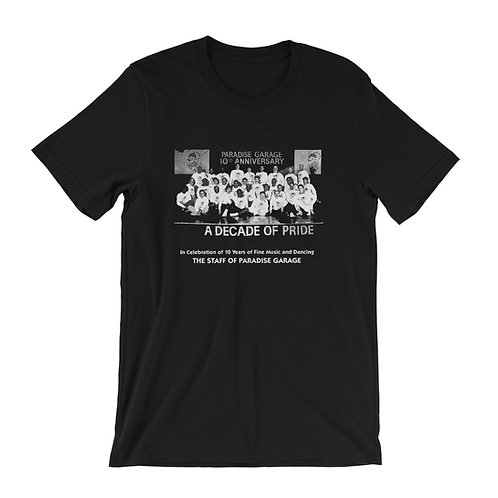 Paradise Garage A Decade Of Pride T-Shirt