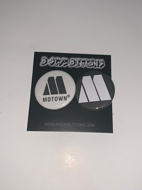 """Motown Records Button Pack - Size: 1.25"""""""