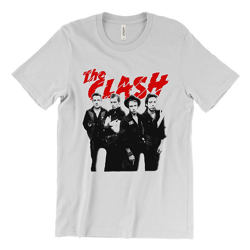 The Clash Group Image T-Shirt