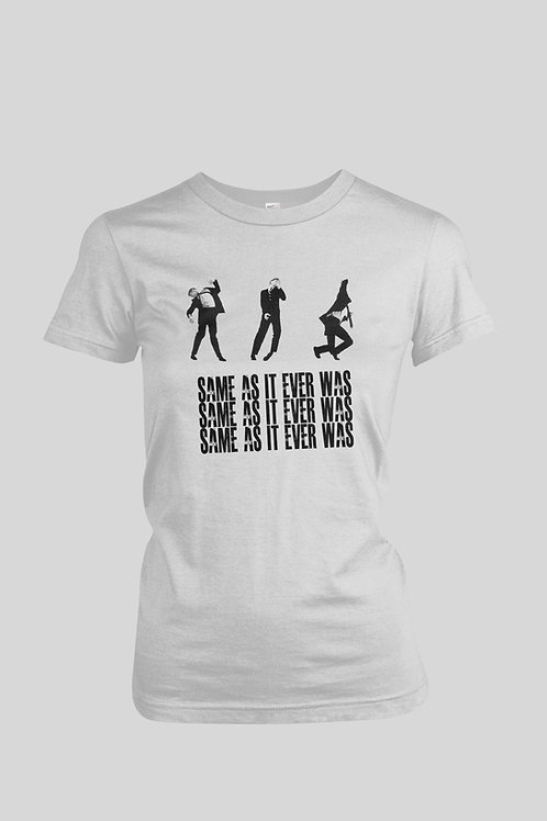 Talking Heads Same As It Ever Was Women's T-Shirt