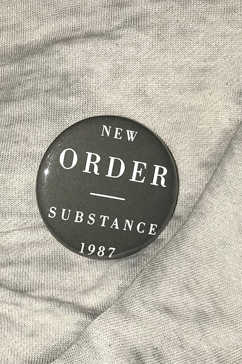 "New Order Substance 1987 2.25"" Big Button"
