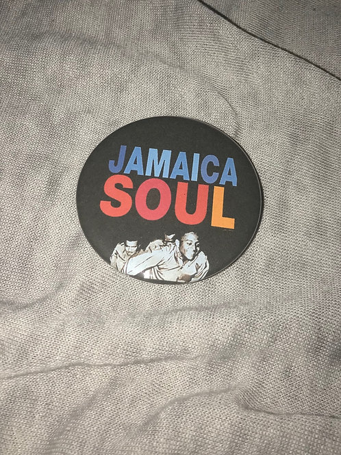 "Jamaica Soul (Reggae music) 2.25"" Big Button"