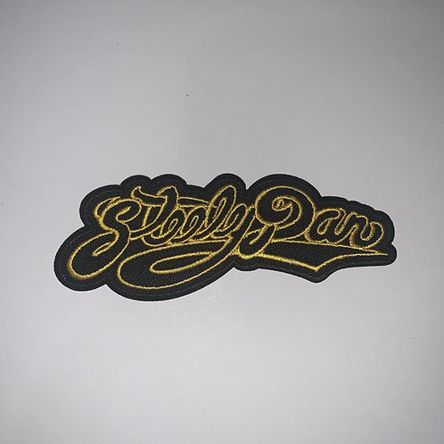 Steely Dan Black and Gold Patch