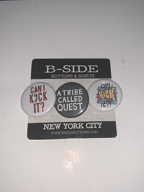 "A Tribe Called Quest Button Pack - Size: 1.25"" (v.3)"
