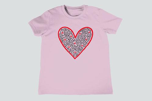 Keith Haring Heart Youth T-Shirt
