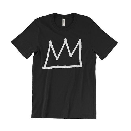 Jean Michel Basquiat crown logo T-Shirt