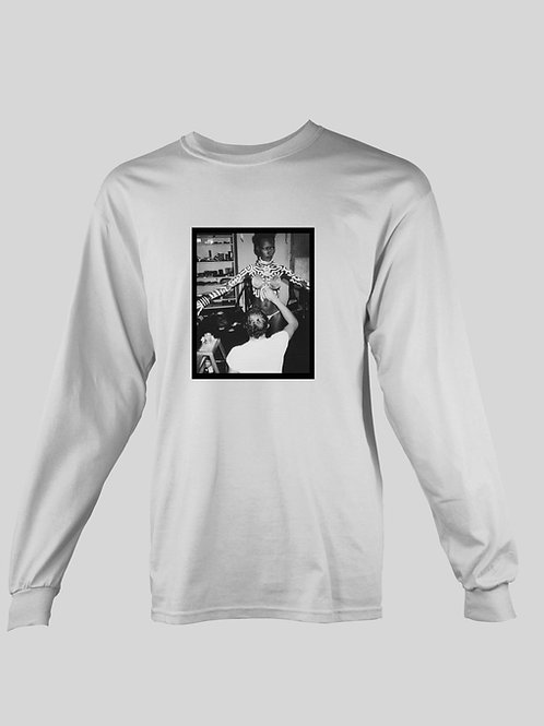 Keith Haring painting Grace Jones long Sleeve T-Shirt