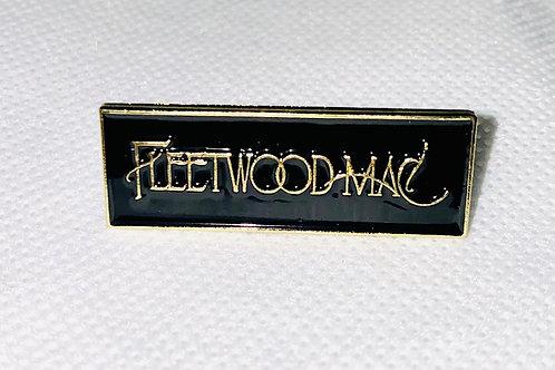 Fleetwood Mac Gold Enamel Pin