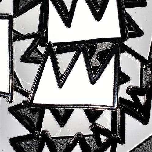 Crown (Jean-Michel Basquiat) Enamel Pin