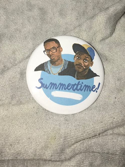 """DJ Jazzy Jeff and the Fresh Prince Summertime 2.25"""" Magnet"""