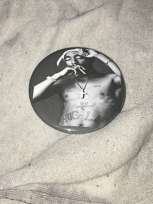 "Tupac Shakur 2.25"" Magnet"