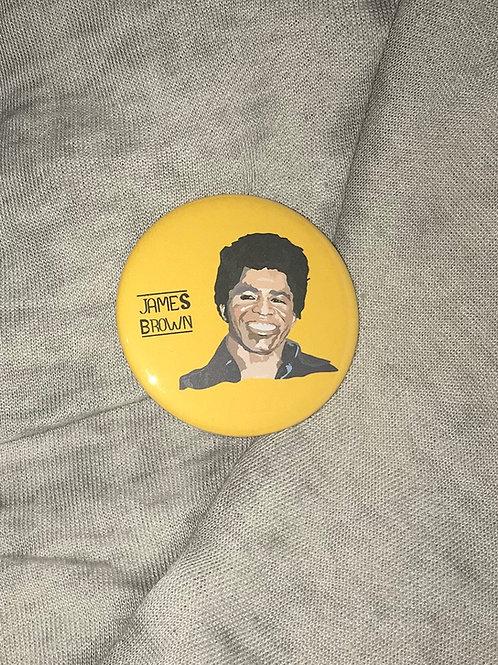 "James Brown 2.25"" Big Button"