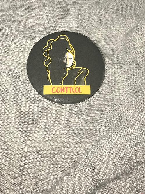 "Janet Jackson Control 2.25"" Big Button"