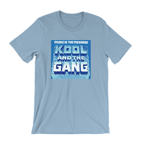 Kool and the Gang Music Is The Message t-shirt