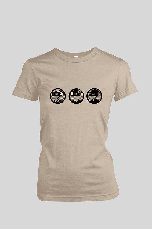 Danceteria Faces Logo Women's T-Shirt