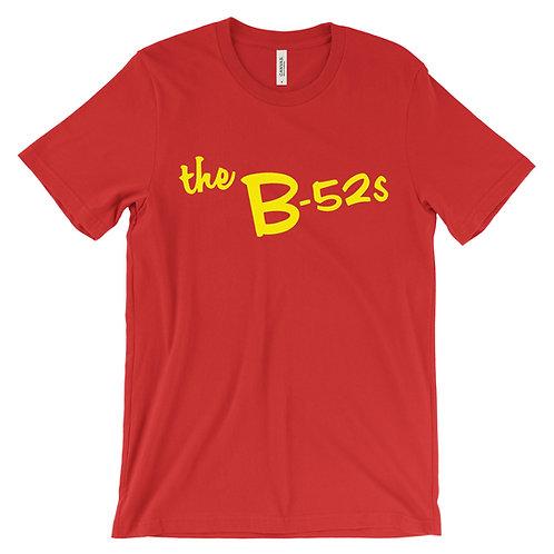 The B-52's logo (yellow) T-Shirt