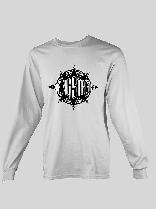 Gang Starr Logo long Sleeve T-Shirt