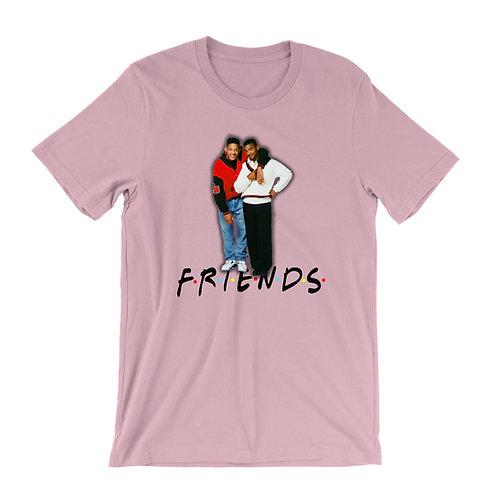 Friends x Carlton Banks x Will Smith aka The Fresh Prince Of Bel-Air T-Shirt