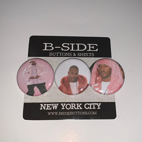 Cam'ron Button Pack - Size: 1.25""