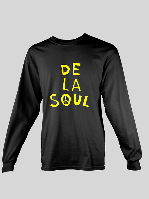 De La Soul Peace long Sleeve T-Shirt