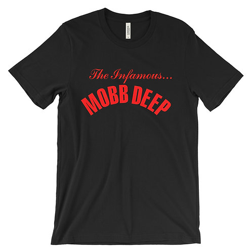 The Infamous Mobb Deep logo (red) T-Shirt