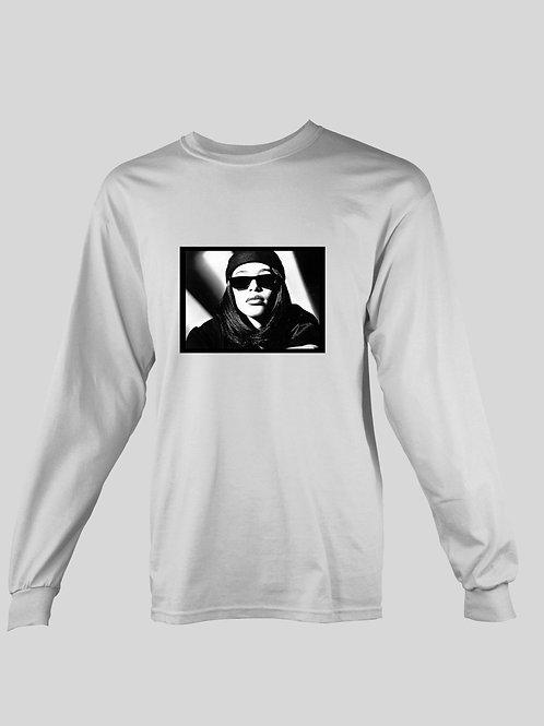 Beanie and Shades Aaliyah long Sleeve T-Shirt
