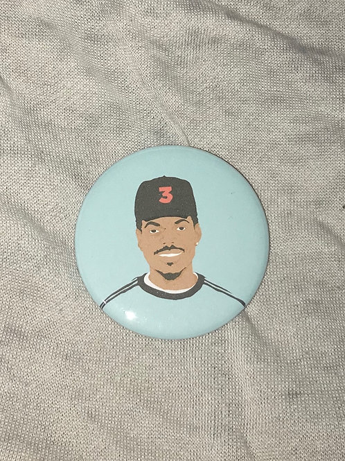 """Chance The Rapper 2.25"""" Magnet"""