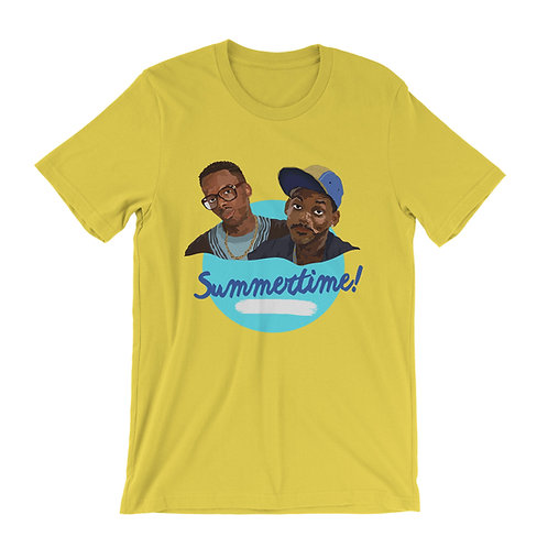 DJ Jazzy Jeff And The Fresh Prince Of Bel-Air Summertime T-Shirt
