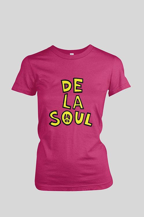 De La Soul Peace Sign Women's T-Shirt