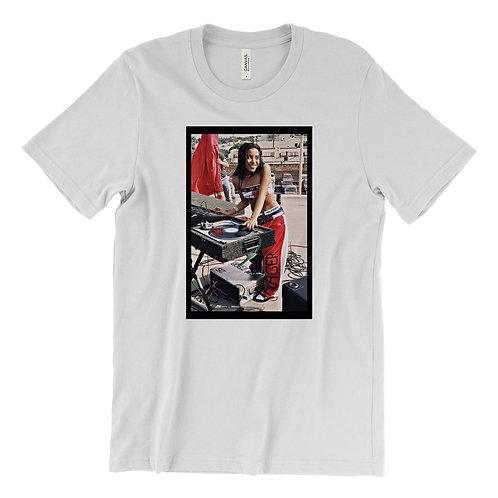 Aaliyah Tommy Hilfiger Djing T-Shirt